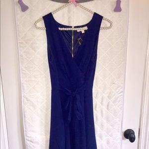 Navy Blue Boutique Dress